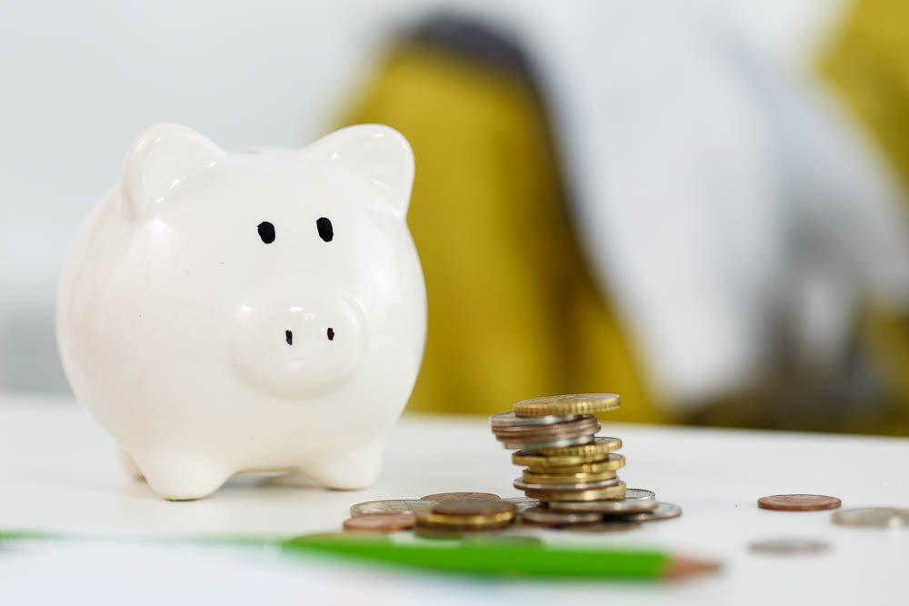 Piggybank Making savings and effective investment concept. Future needs deposit