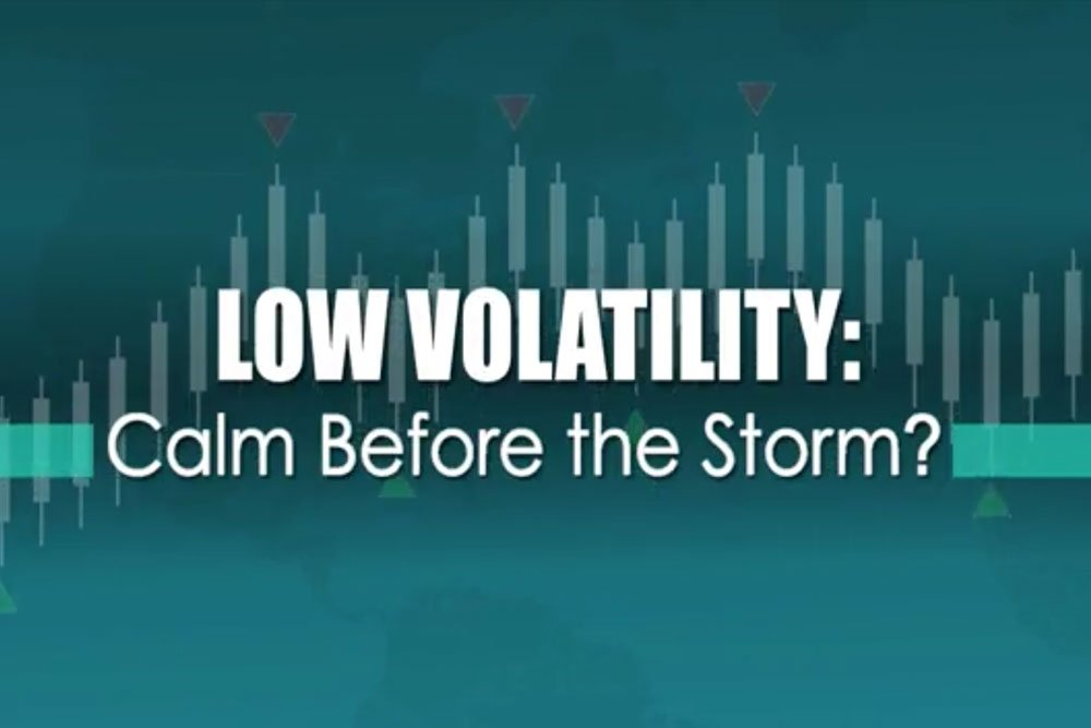 Cover image for the video showing the impact of low market volatility