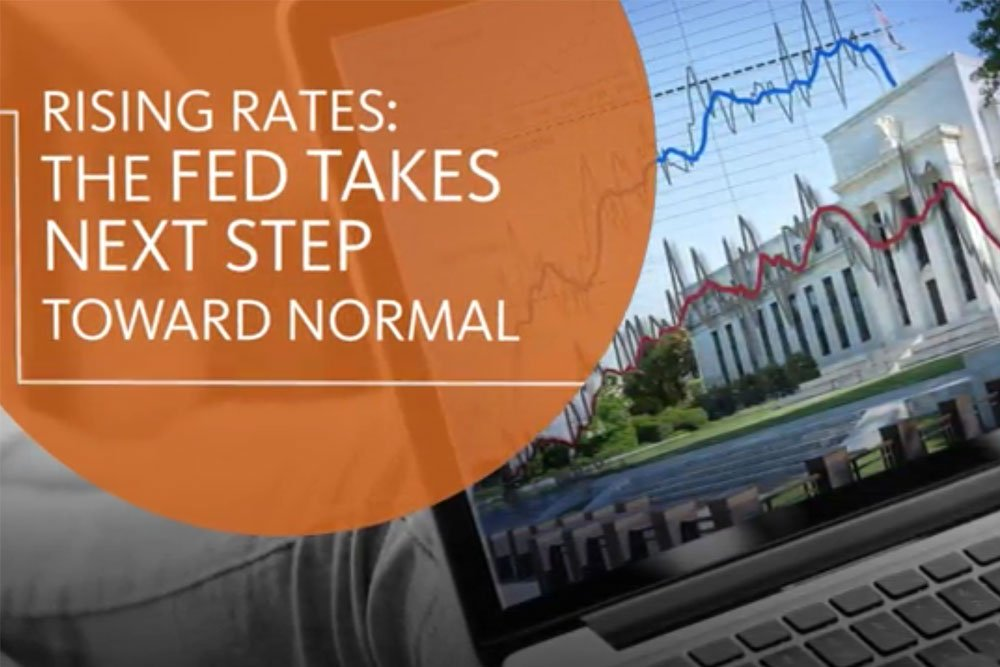 Cover image for the video showing the impact of rising interest rates